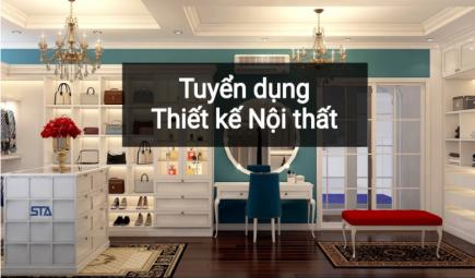 Tuyển nhân viên thiết kế nội thất