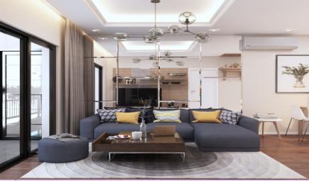 10 mẫu thiết kế phòng khách chung cư hiện đại