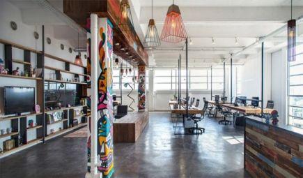 10 mẫu thiết kế nội thất văn phòng đẹp